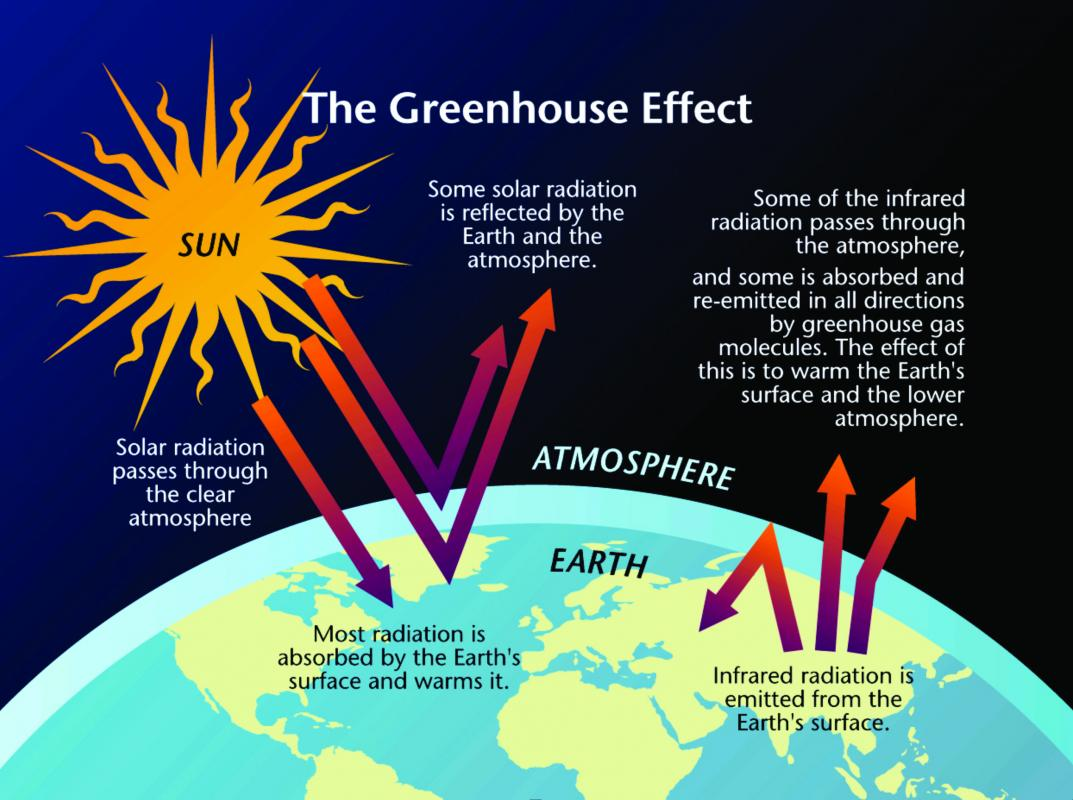 Greenhouse effect bing images for Green housse effect