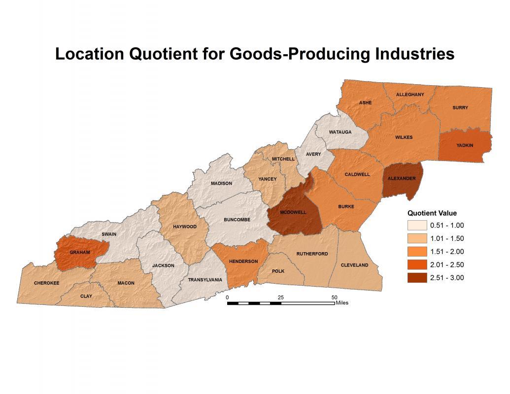 goods producing industries western north carolina vitality index. Black Bedroom Furniture Sets. Home Design Ideas