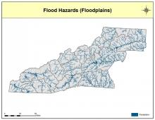 Floodplains Map