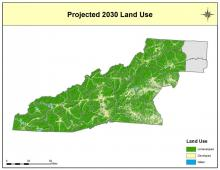 Projected 2030 Land Use Map