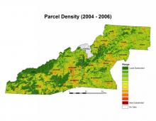 Parcel Density Analysis Map